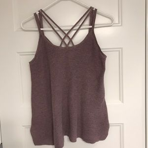 AEO sweater tank top